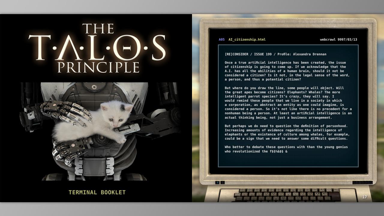 The Talos Principle - Bonus Content screenshot
