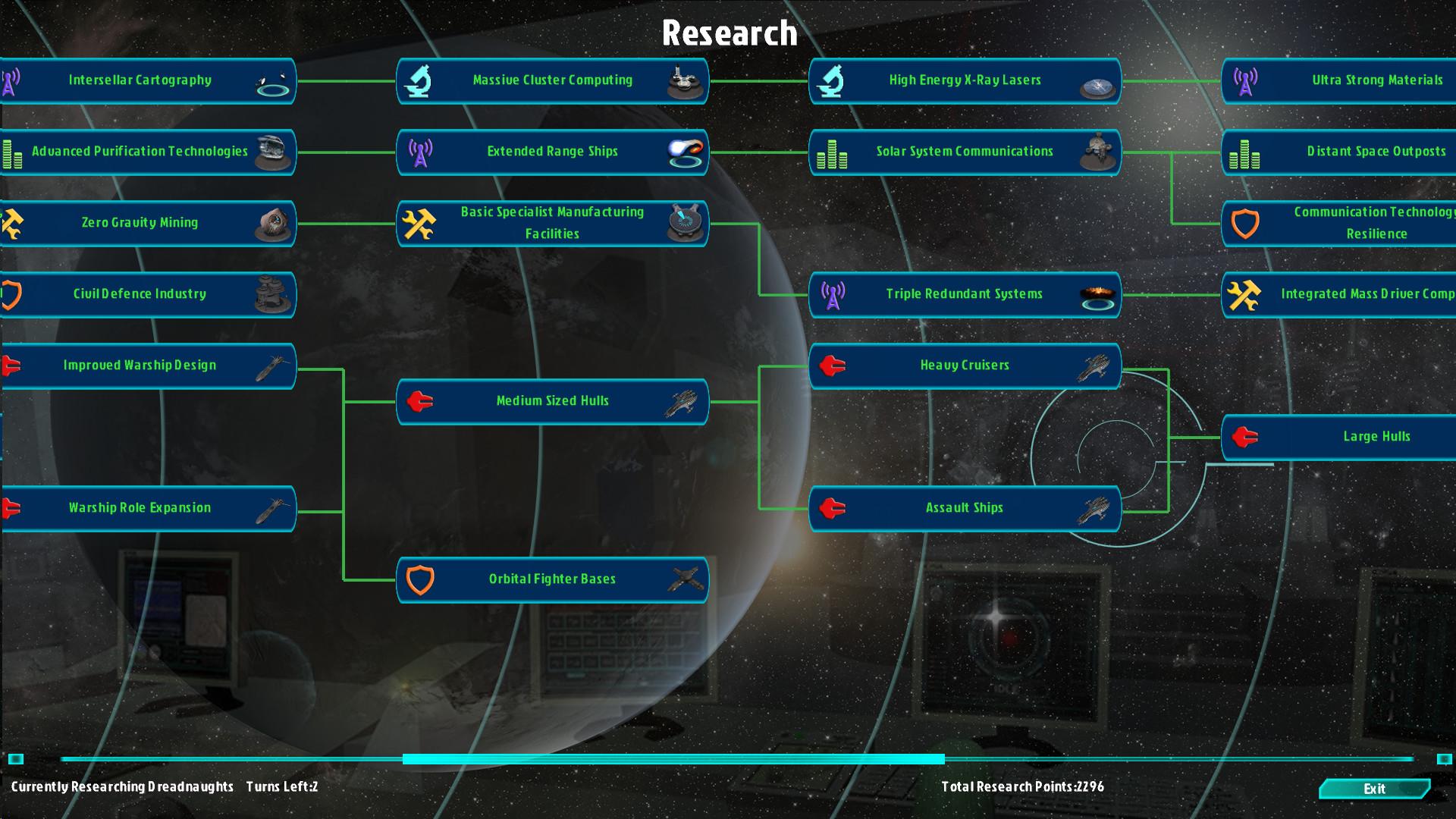 Galactic Inheritors screenshot