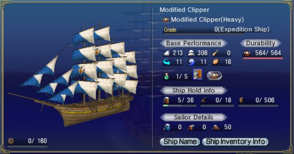 скриншот Uncharted Waters Online: Life is One Big Adventure Pack 2