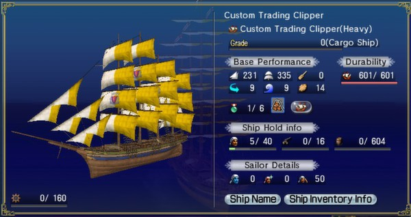 скриншот Uncharted Waters Online: The Rainmaker Pack 2