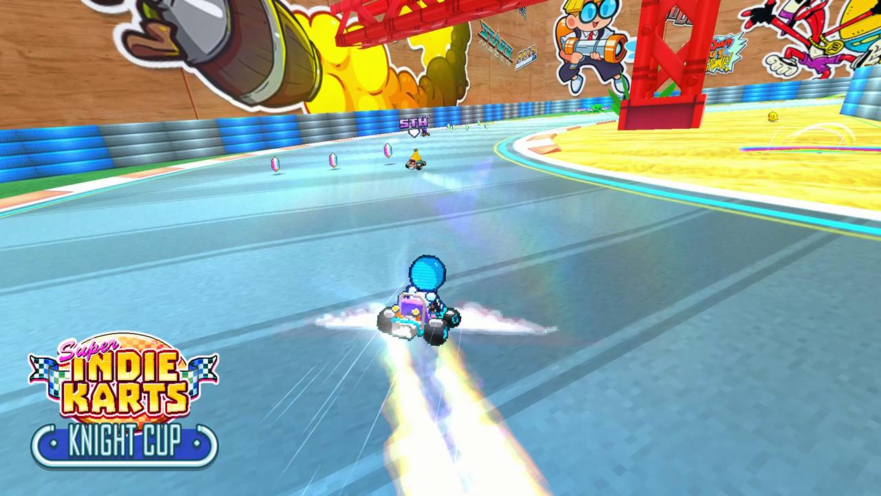 Super Indie Karts screenshot