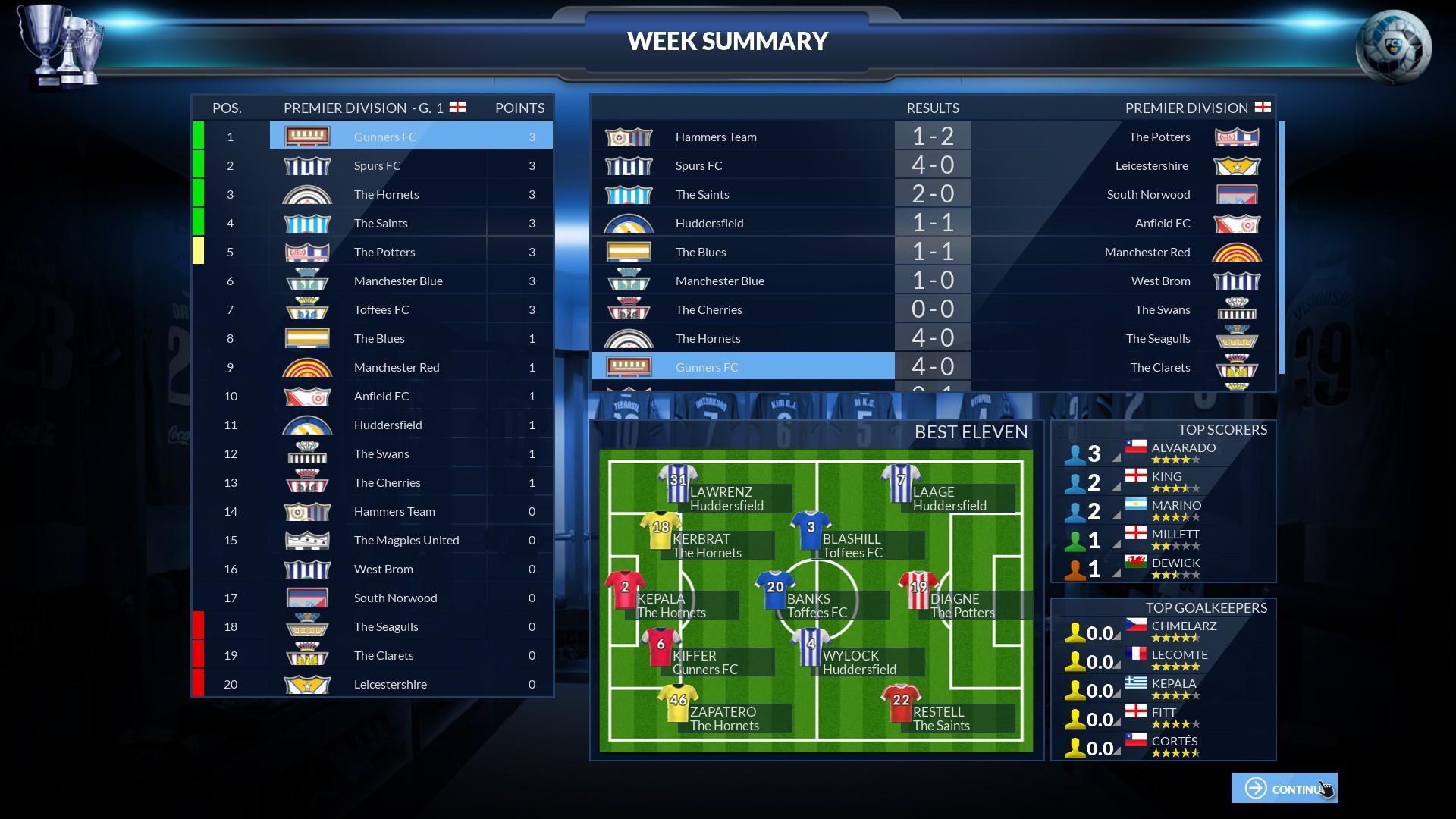 Football Club Simulator - FCS NS#19 screenshot