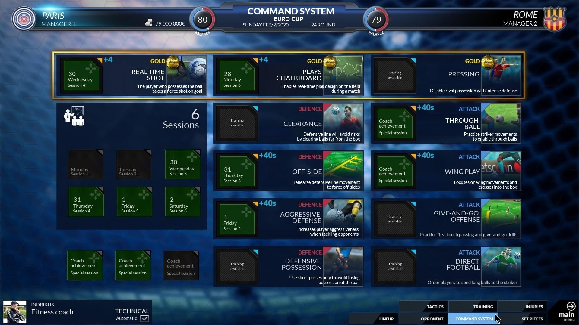 Football Club Simulator - FCS #21 screenshot