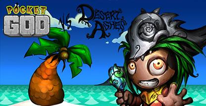 Pocket God vs Desert Ashes game image