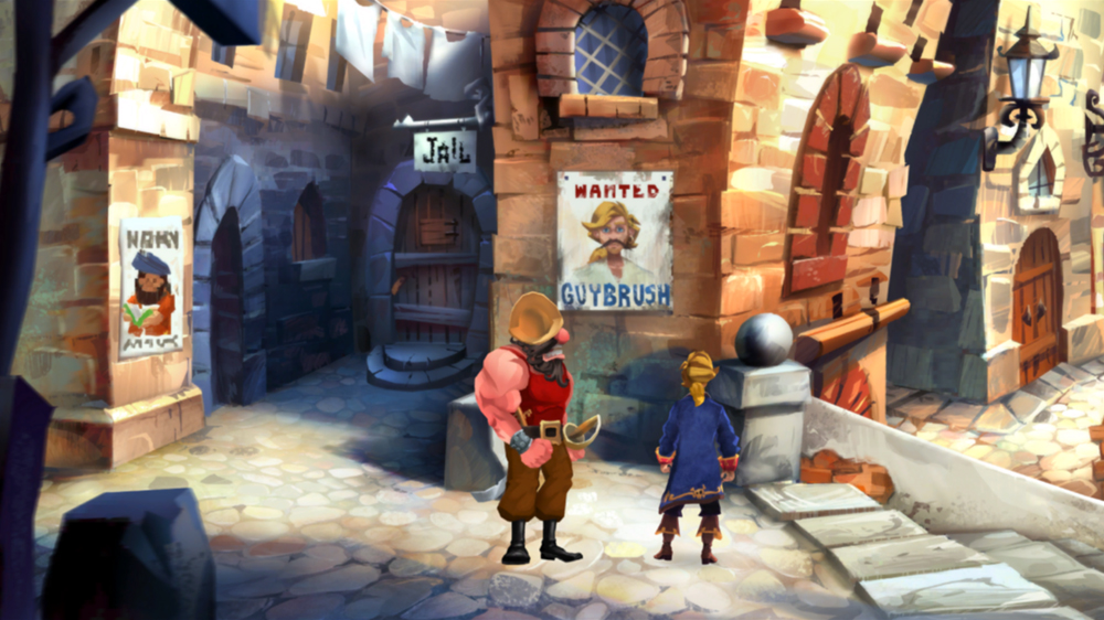 Monkey Island 2 Special Edition: LeChuck's Revenge screenshot