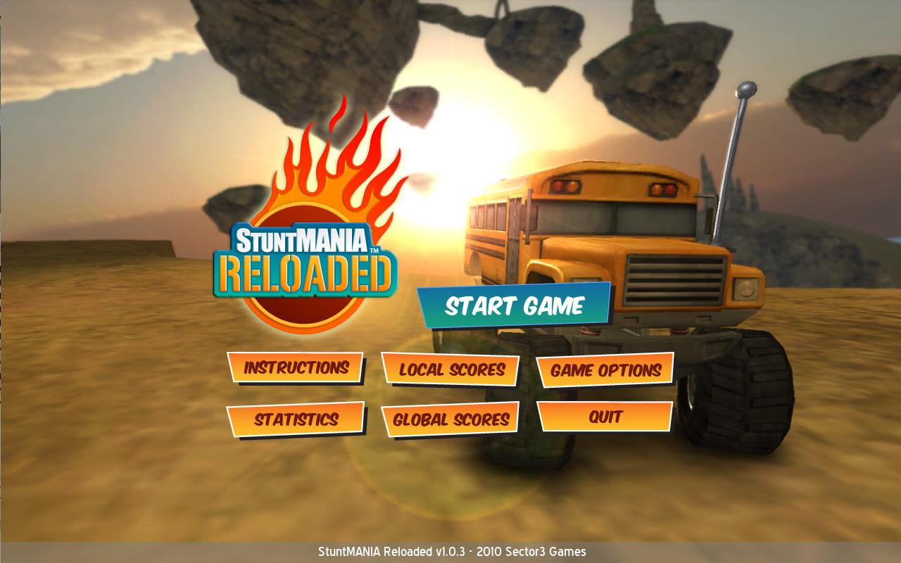 StuntMANIA Reloaded screenshot
