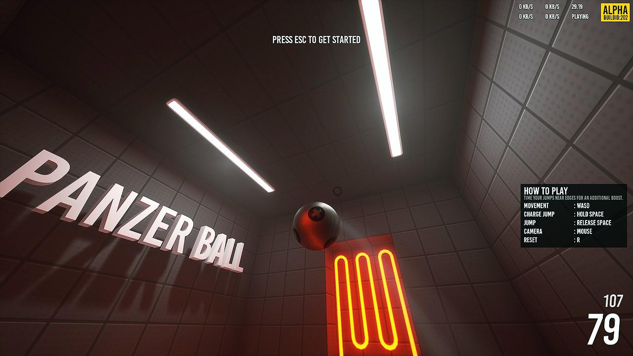 PANZER BALL screenshot