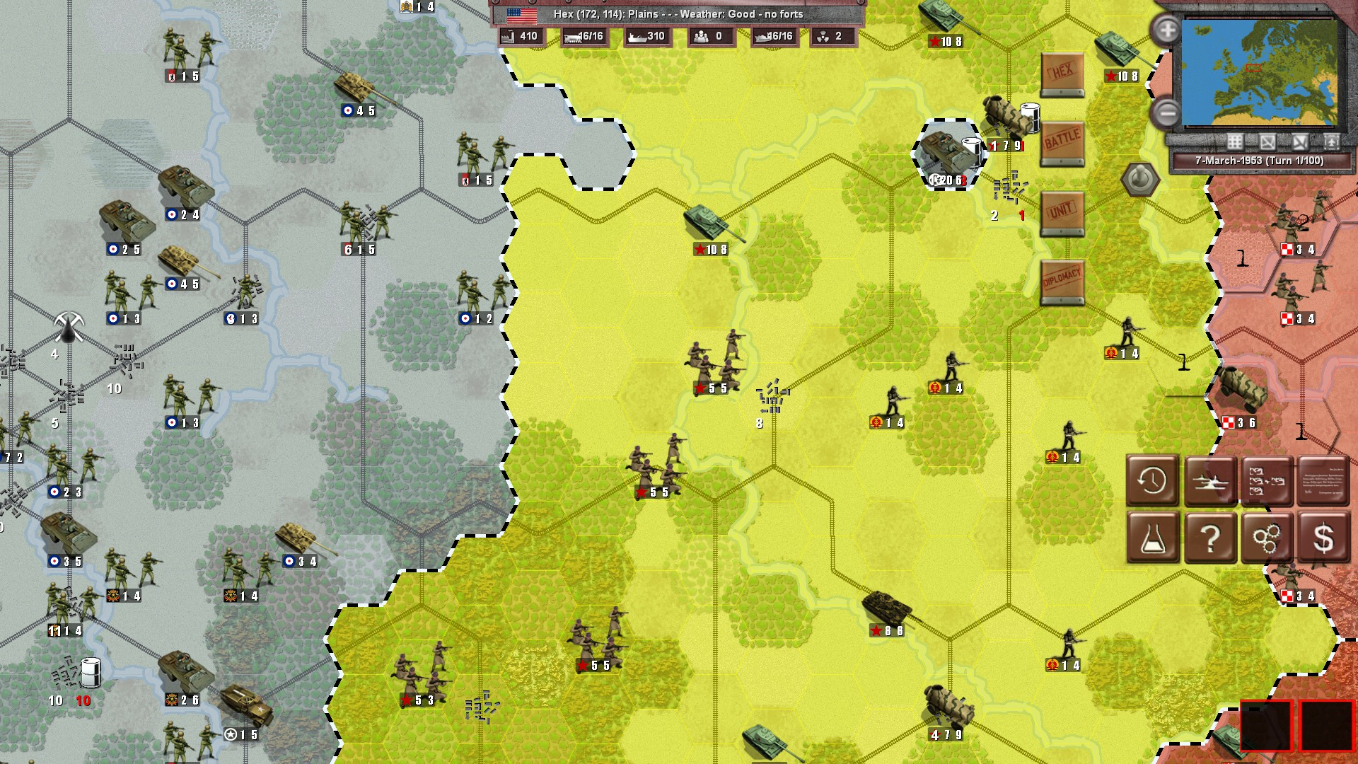 1953: NATO vs Warsaw Pact screenshot