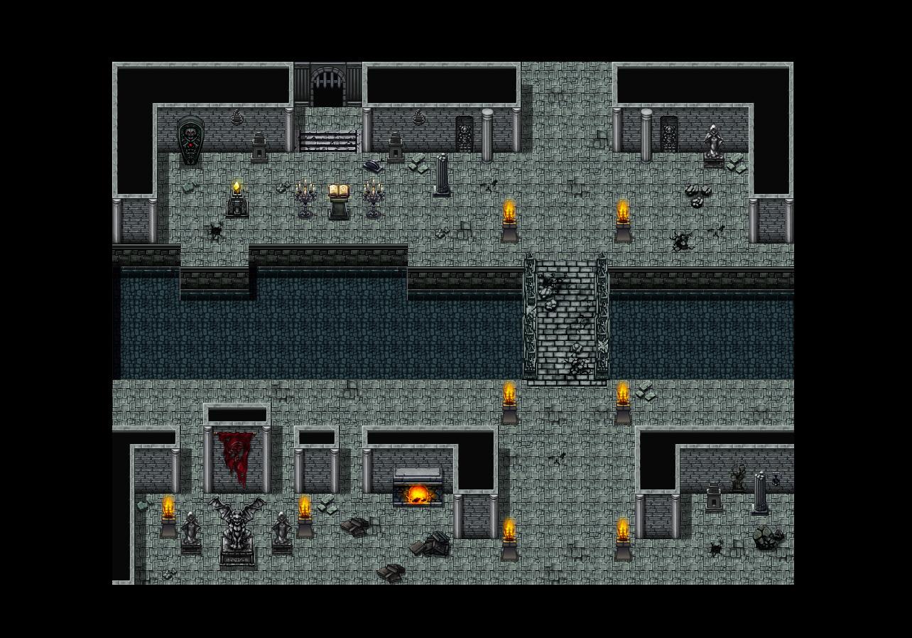 RPG Maker VX Ace - Evil Castle Tiles Pack screenshot