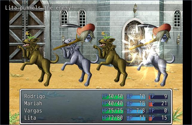 RPG Maker VX Ace - Tarot Battlers screenshot
