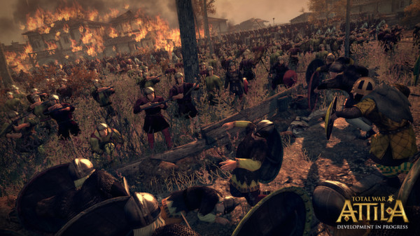 Download Total War: ATTILA Game PC Full Version - Skidrow
