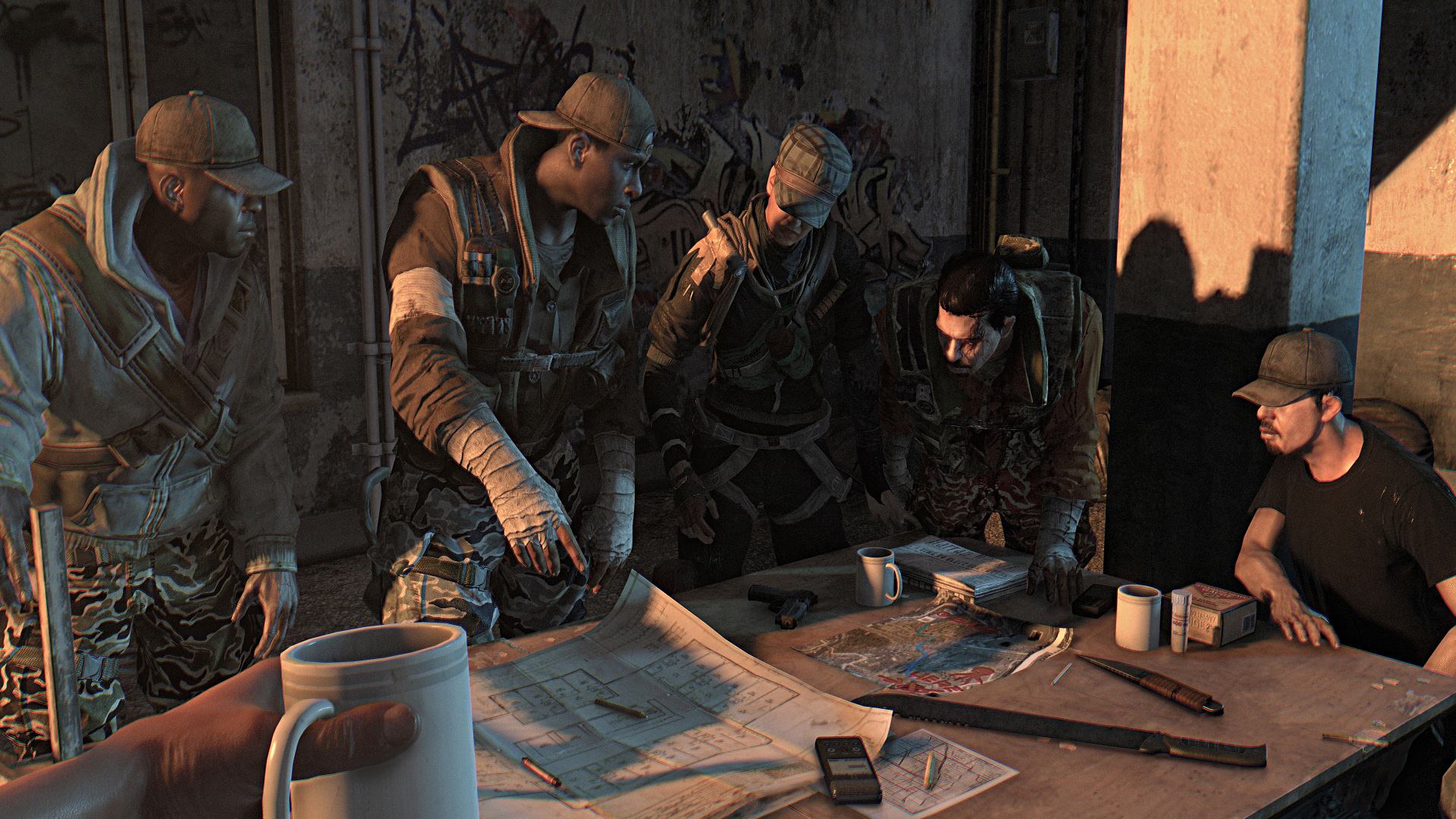 Скачать dying light the bozak horde.