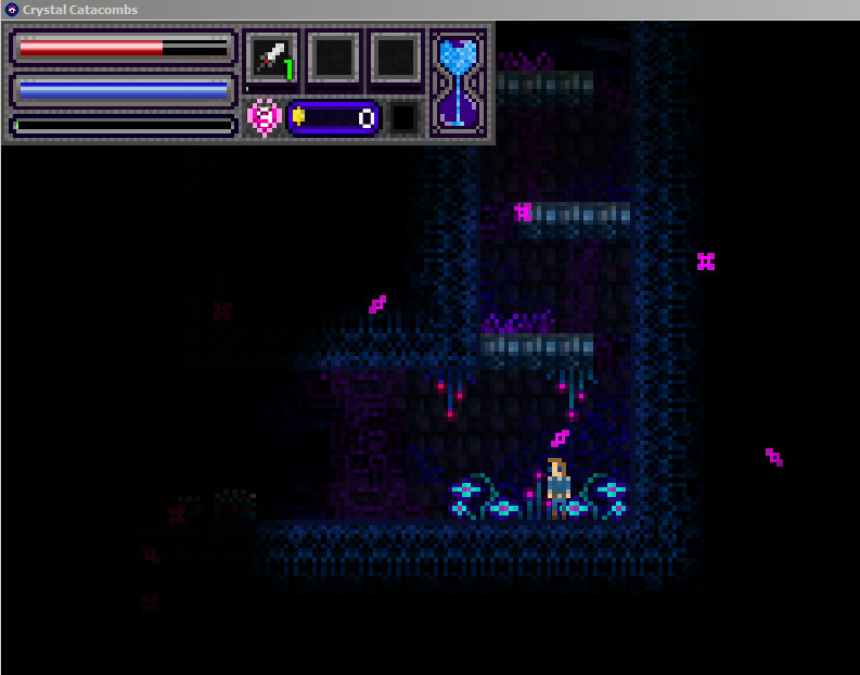 Crystal Catacombs screenshot