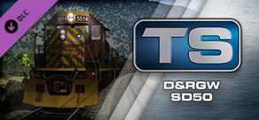 Train Simulator: D&RGW SD50 Loco Add-On