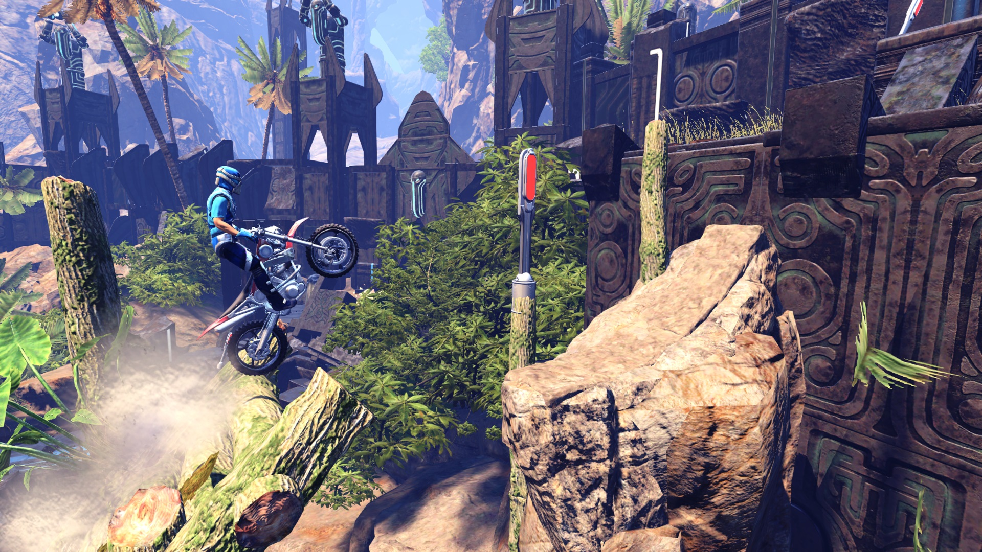 Trials Fusion - Welcome to the Abyss screenshot
