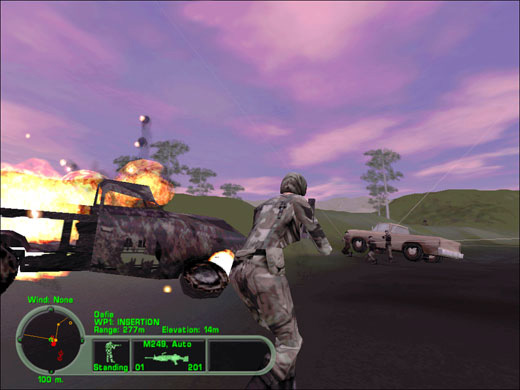 Delta Force Land Warrior screenshot