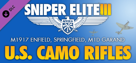Sniper Elite 3 - U.S. Camouflage Rifles Pack