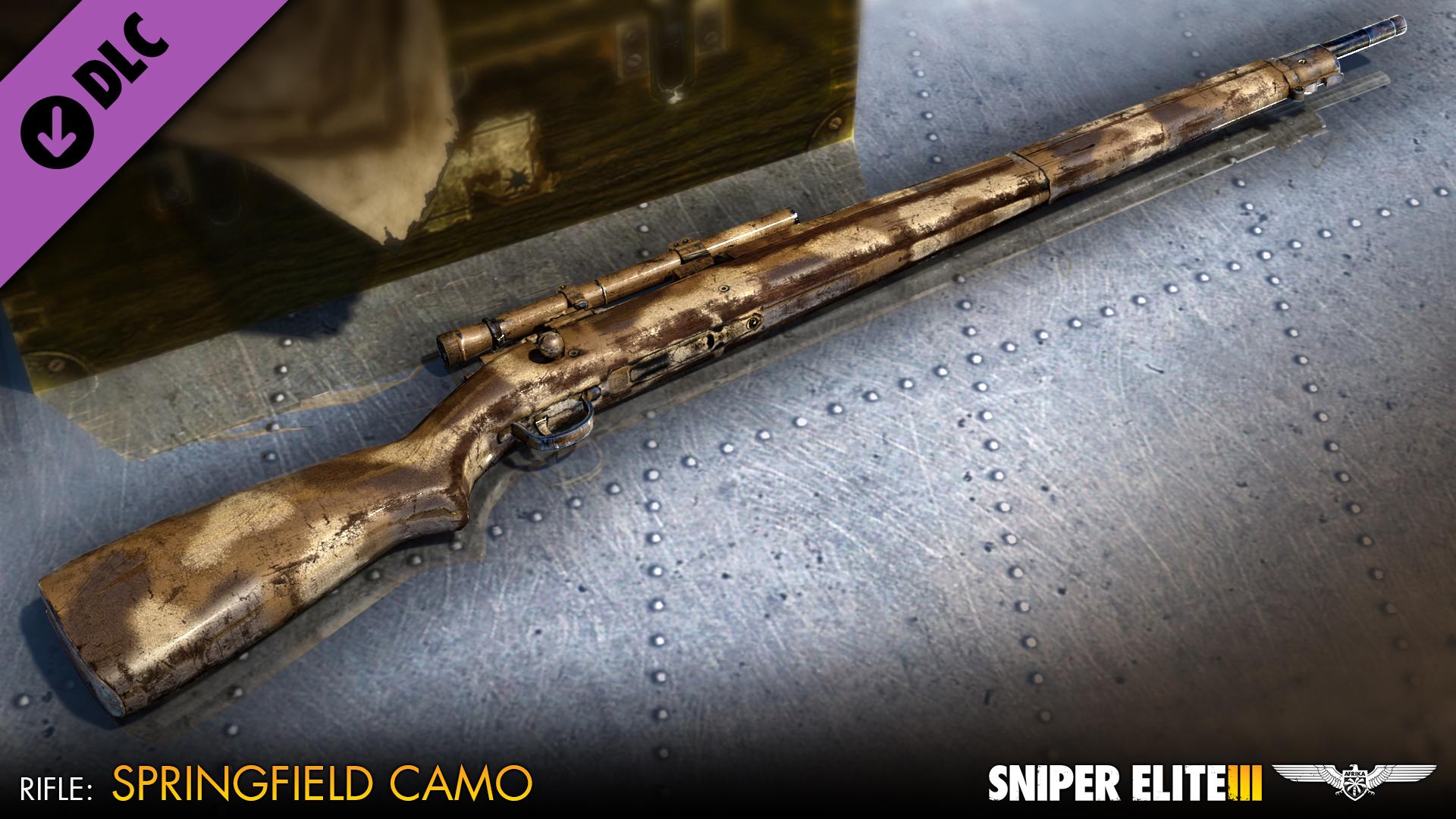 Sniper Elite 3 - U.S. Camouflage Rifles Pack screenshot