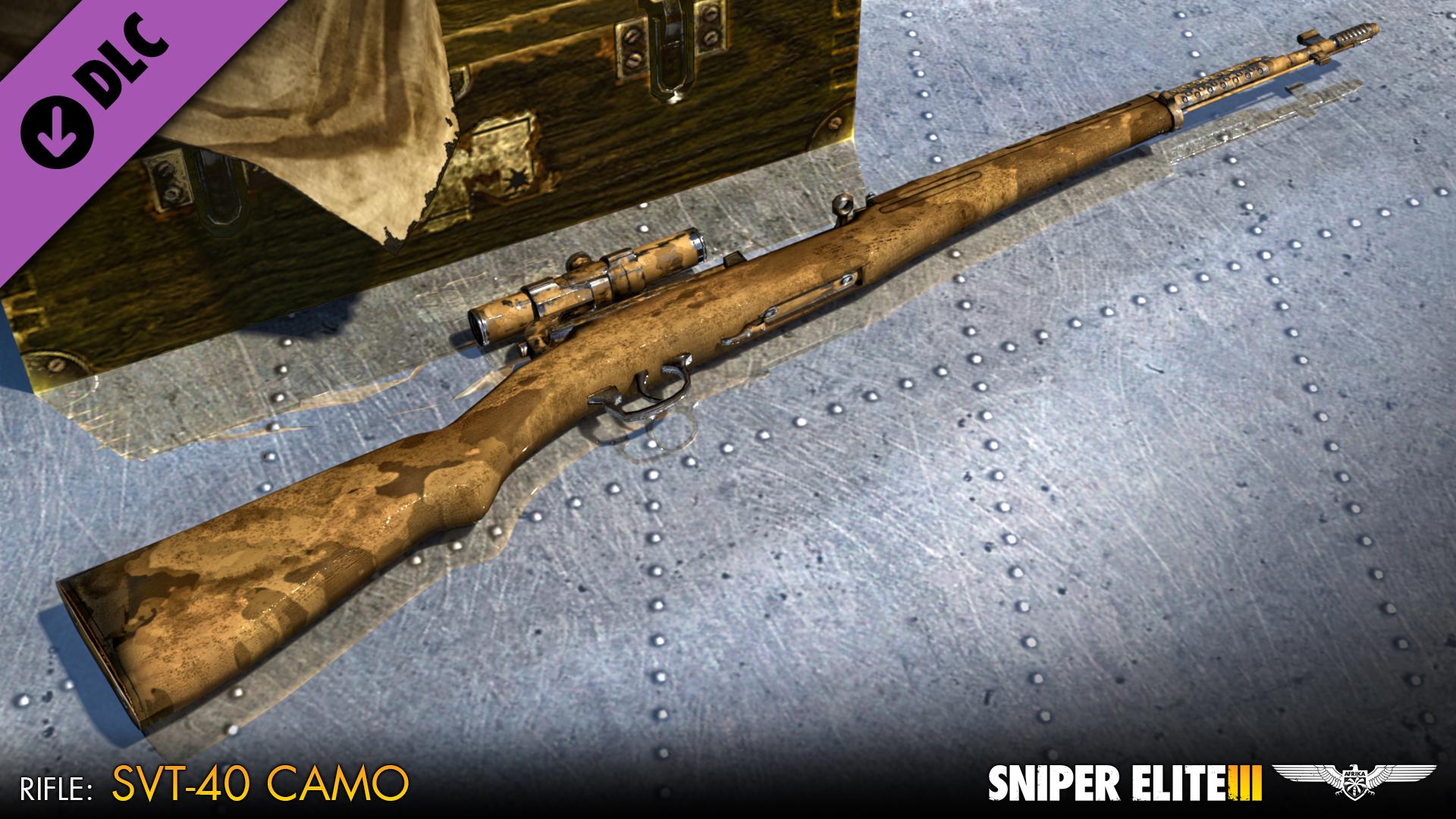Sniper Elite 3 - International Camouflage Rifles Pack screenshot