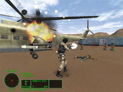 Delta Force: Task Force Dagger screenshot