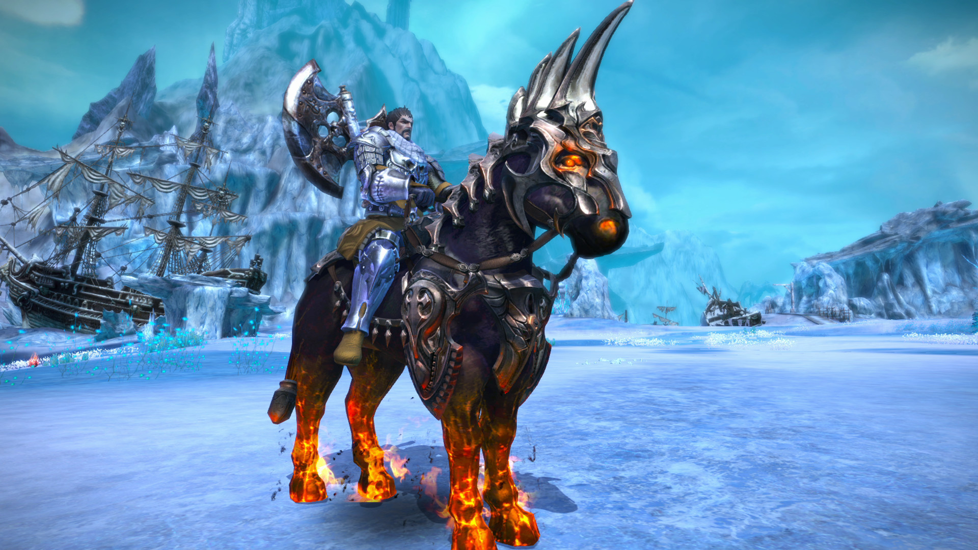 tera how to get permanent mount