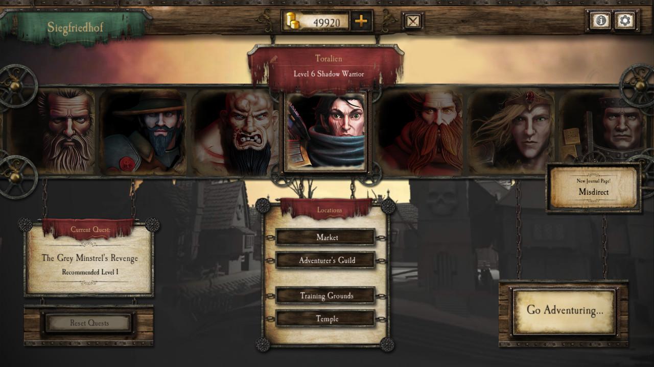 Warhammer Quest screenshot