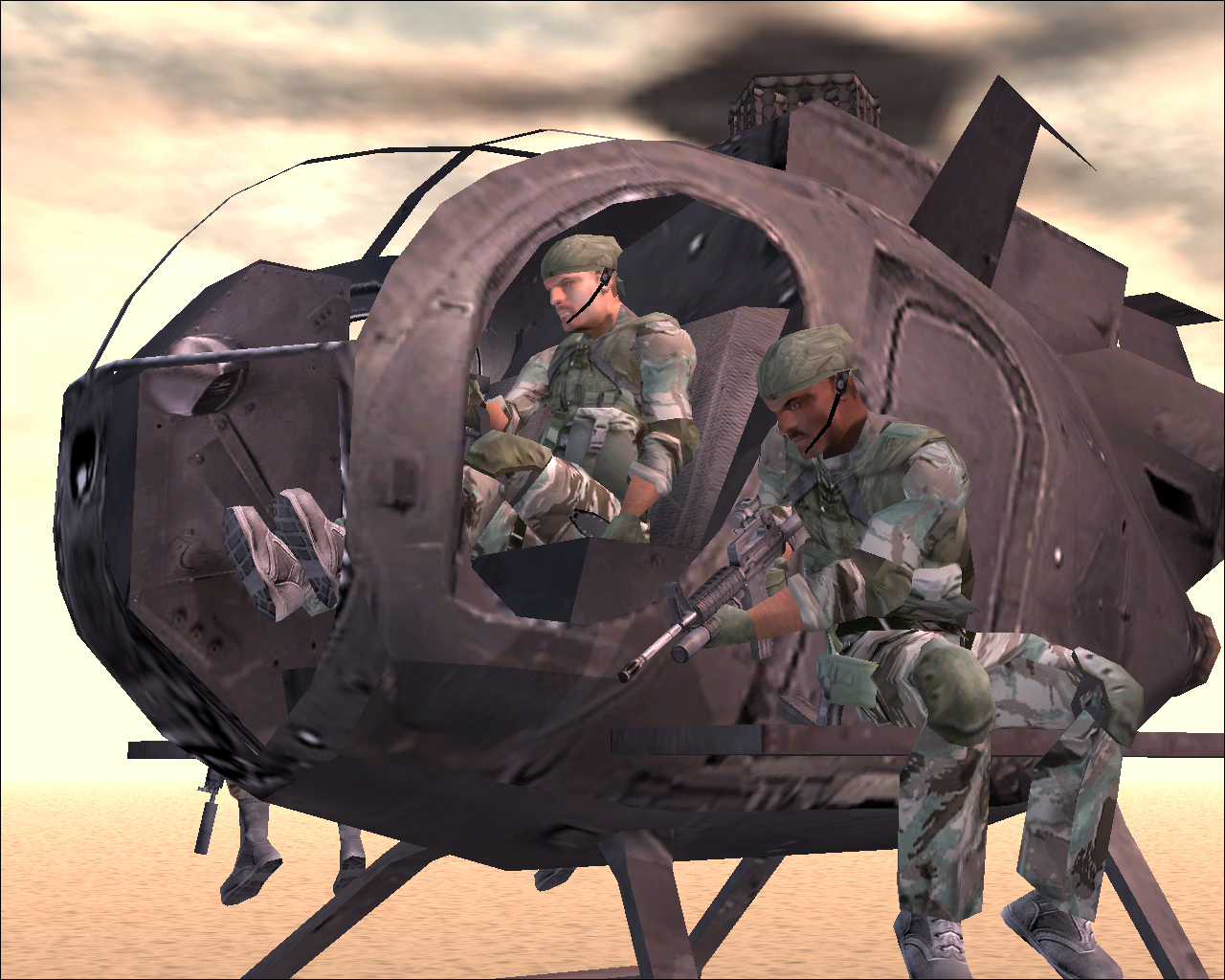 Delta Force — Black Hawk Down: Team Sabre screenshot