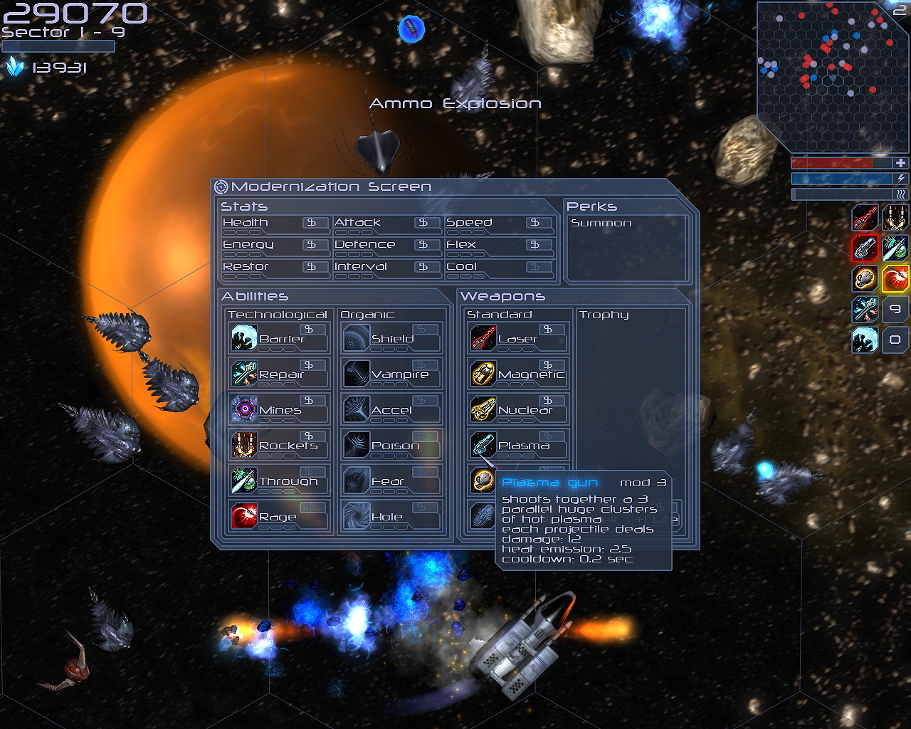 Deep Eclipse: New Space Odyssey screenshot
