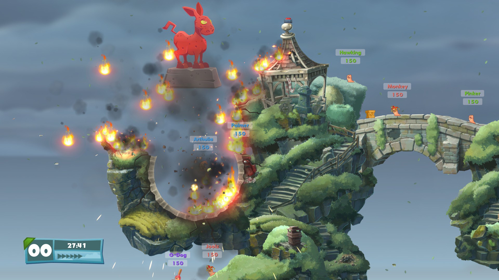 Worms W.M.D screenshot 1