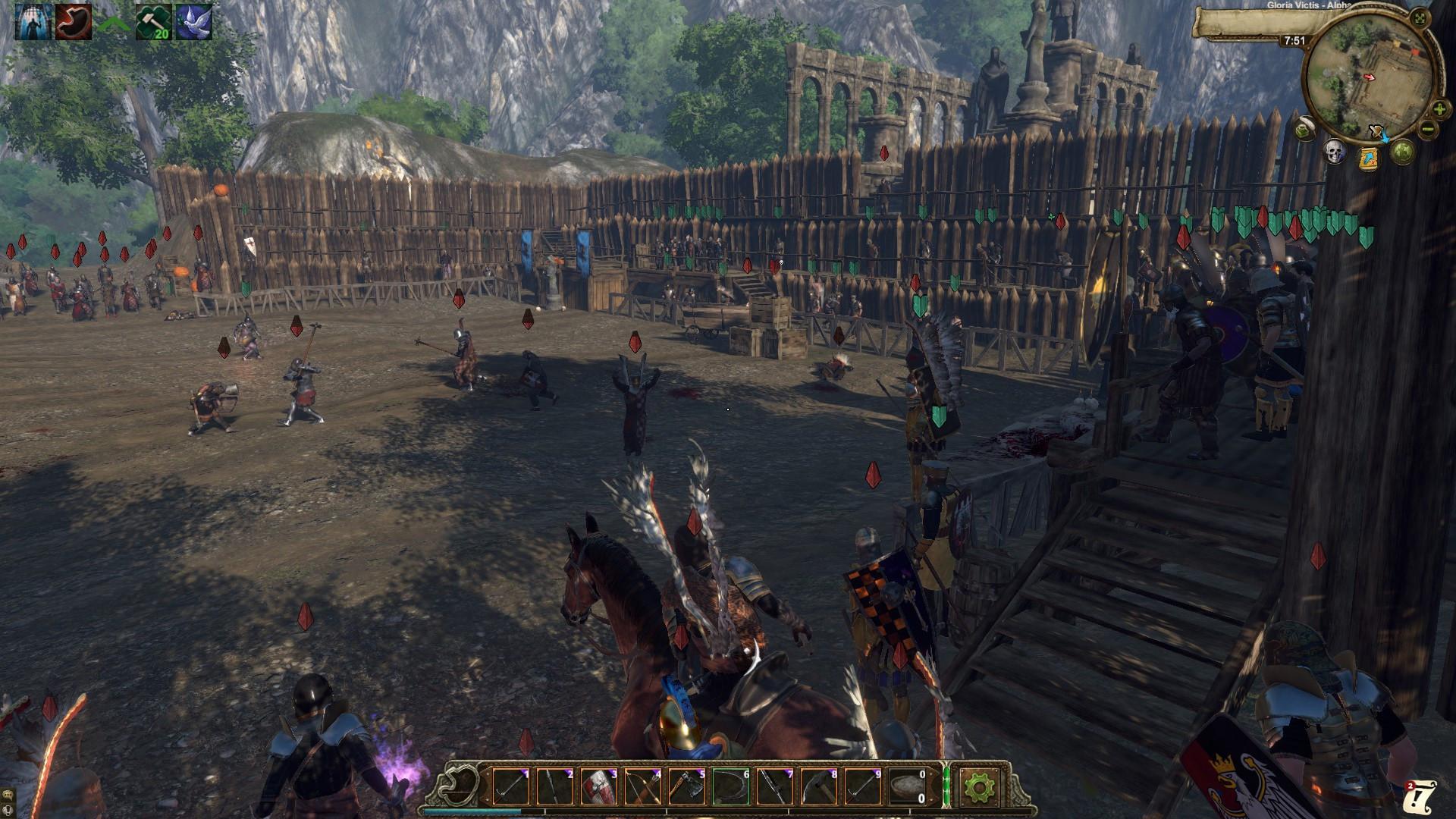 Gloria Victis screenshot