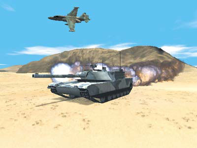 Armored Fist 3 screenshot
