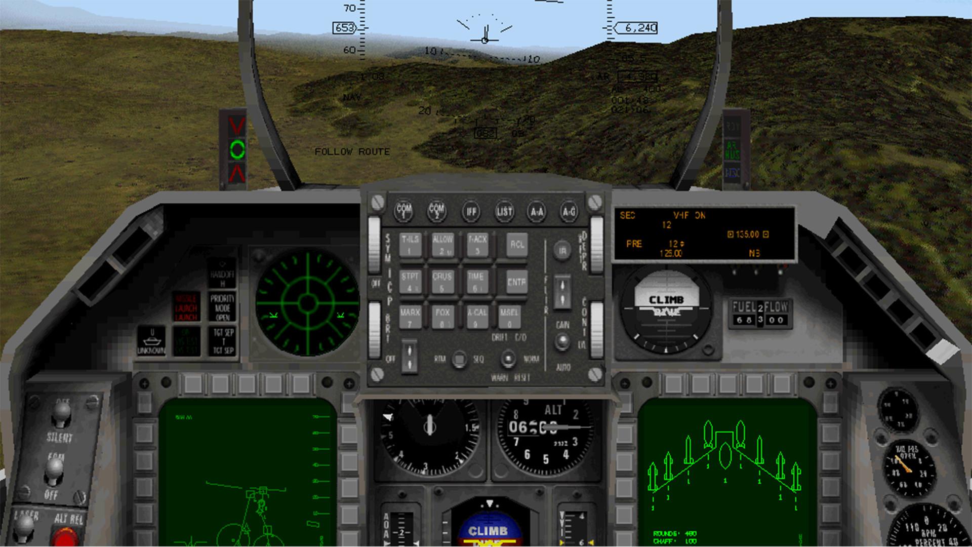F-16 Multirole Fighter screenshot