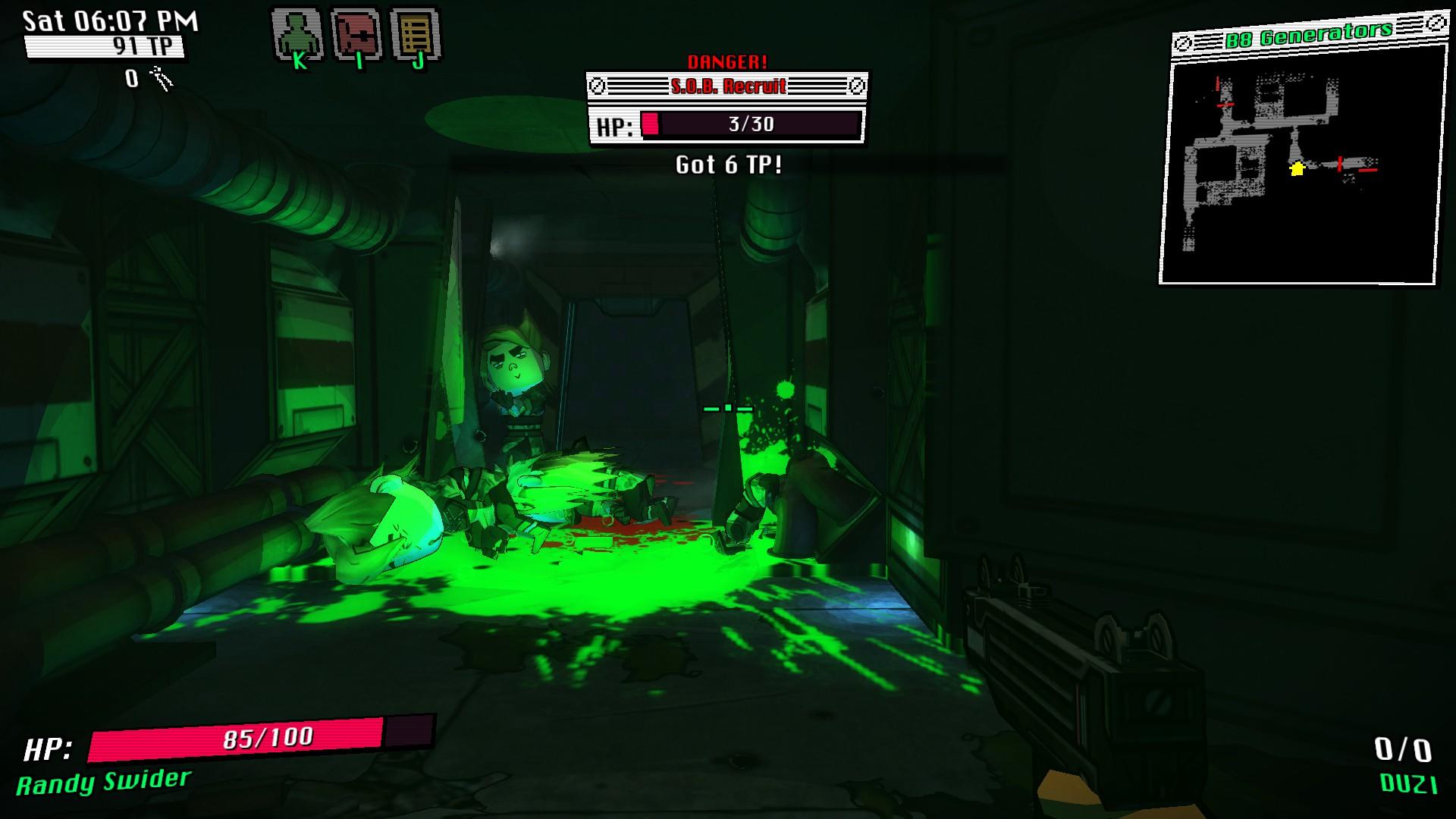 WASTED screenshot
