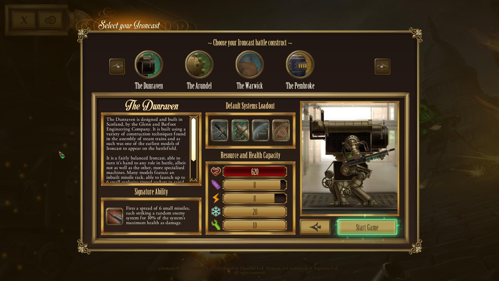 Ironcast screenshot
