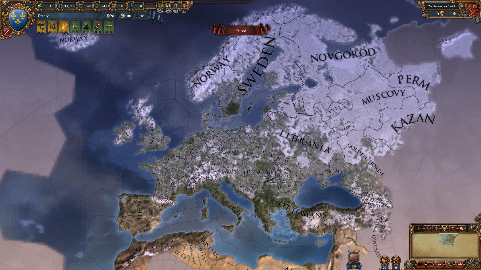 Europa Universalis IV: Guns, Drums and Steel Music Pack screenshot