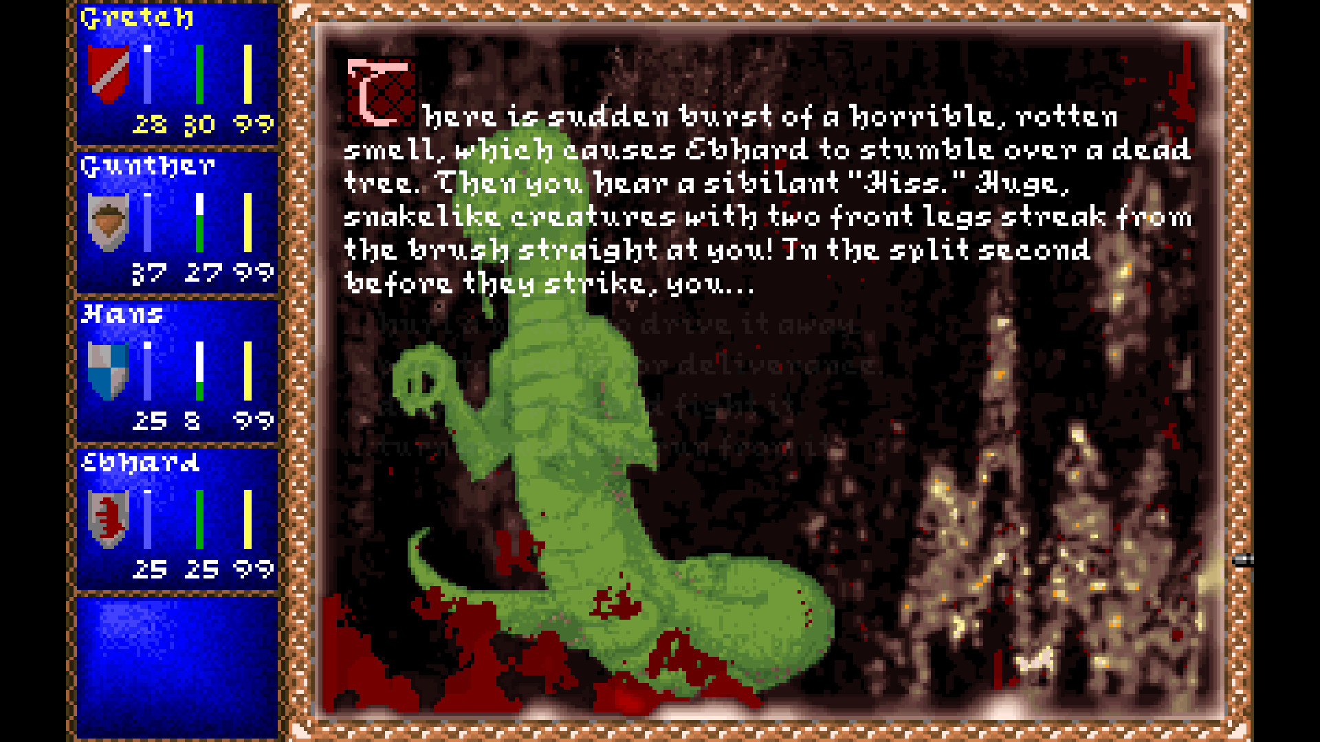 Darklands screenshot