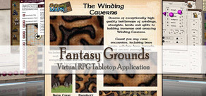 Fantasy Grounds - Maps: Winding Caverns