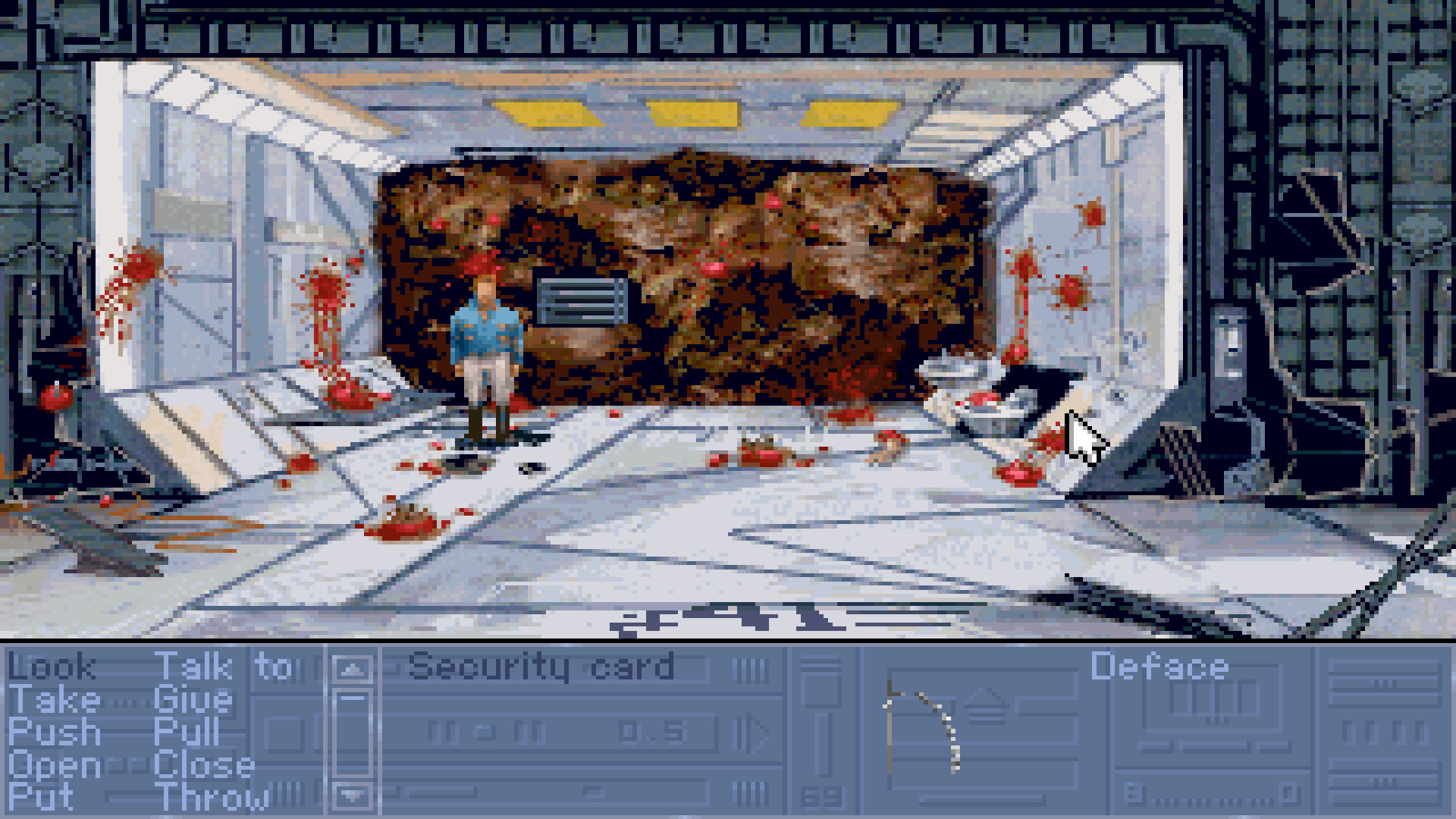 Rex Nebular and the Cosmic Gender Bender screenshot