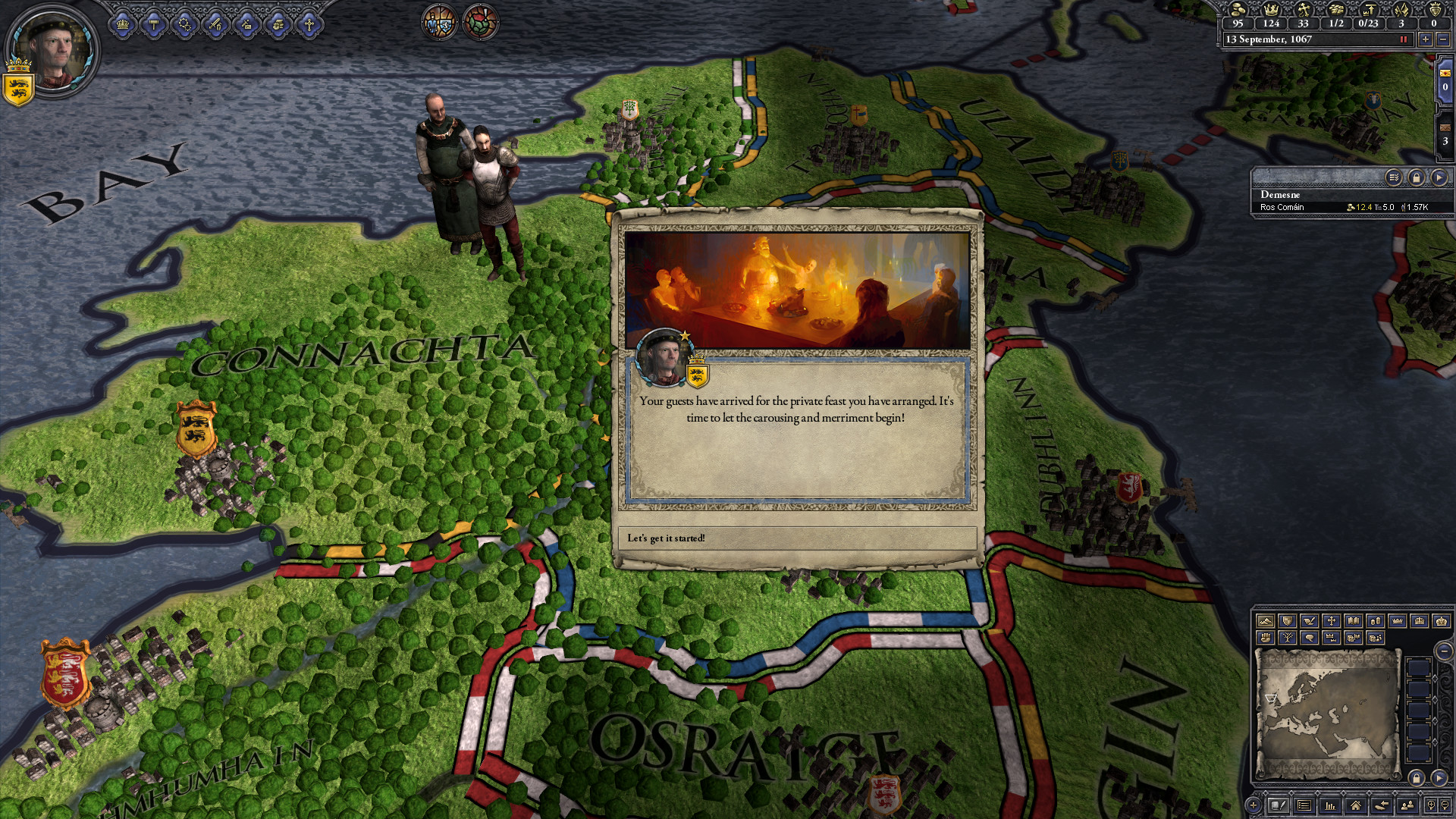 Expansion - Crusader Kings II: Way of Life screenshot