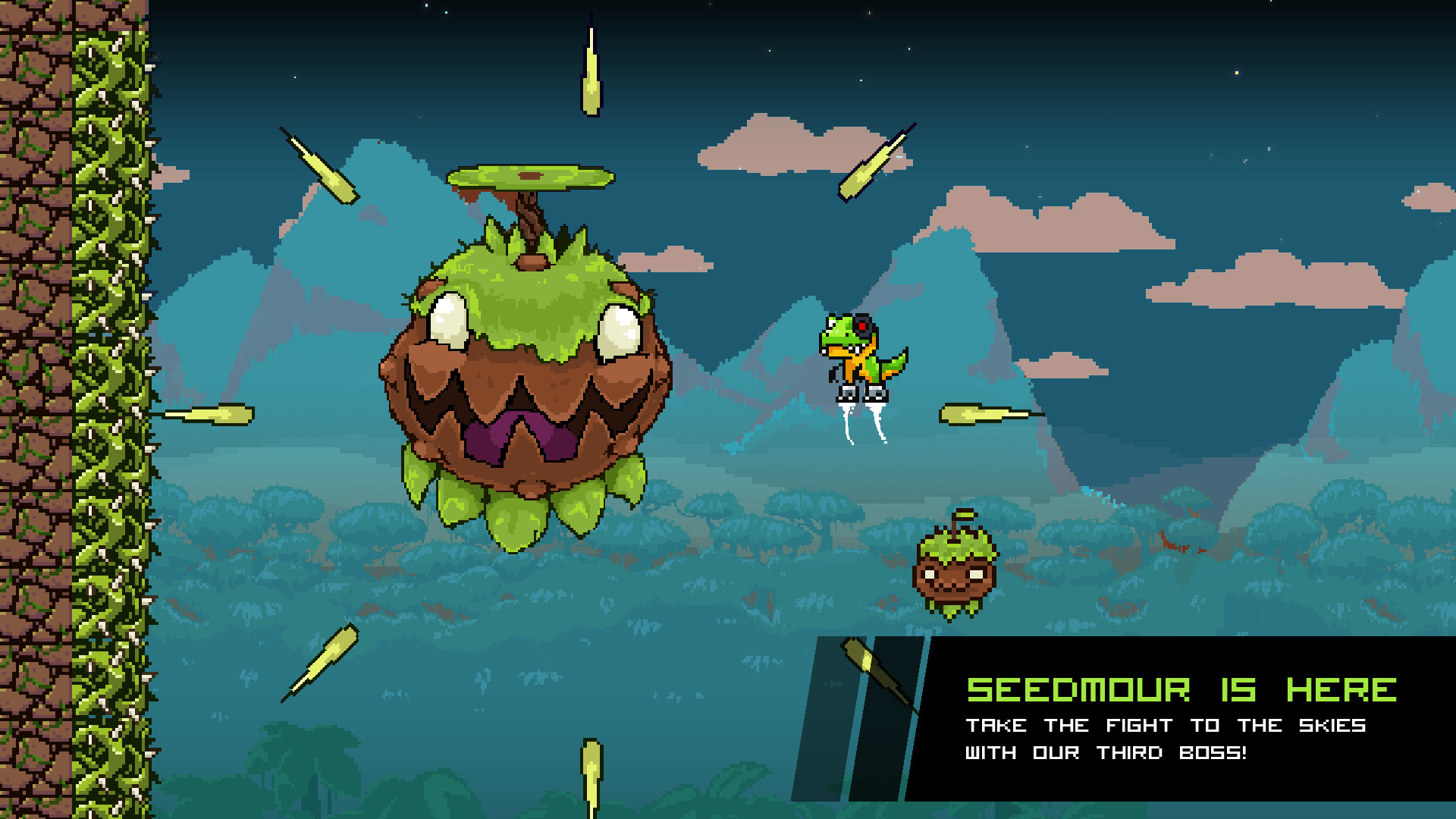 JumpJet Rex screenshot