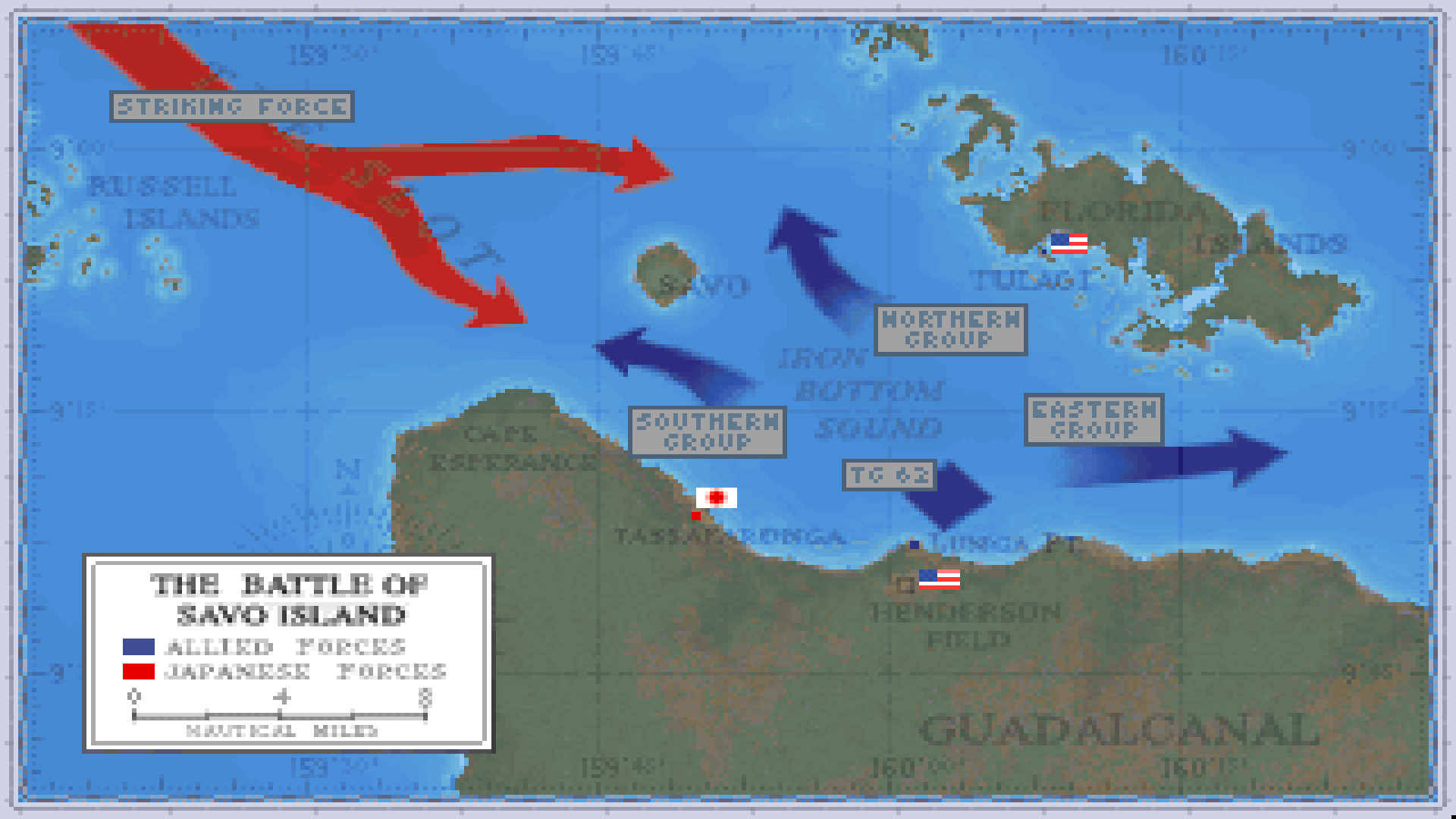 Task Force 1942: Surface Naval Action in the South Pacific screenshot