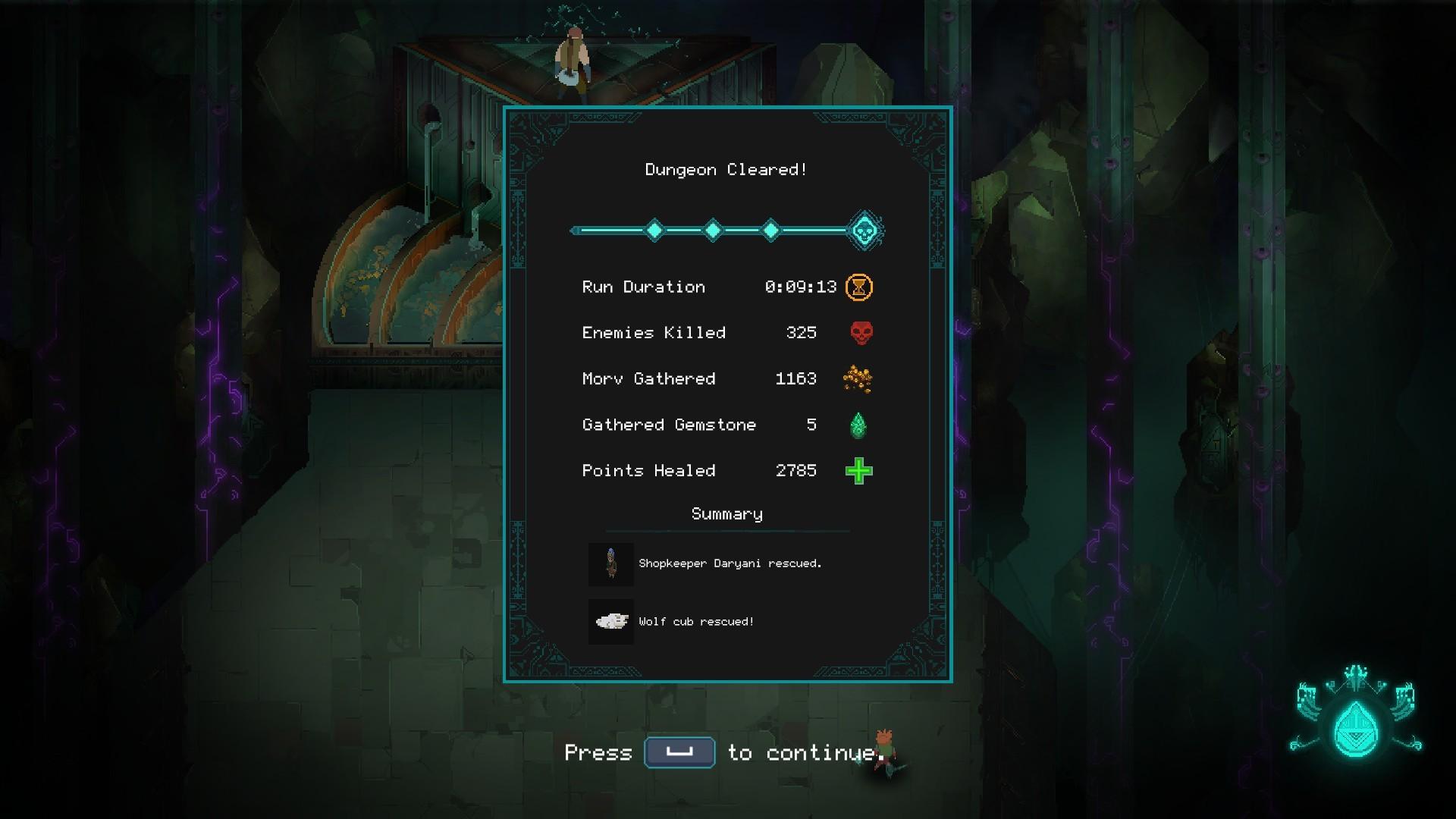 Children of Morta screenshot
