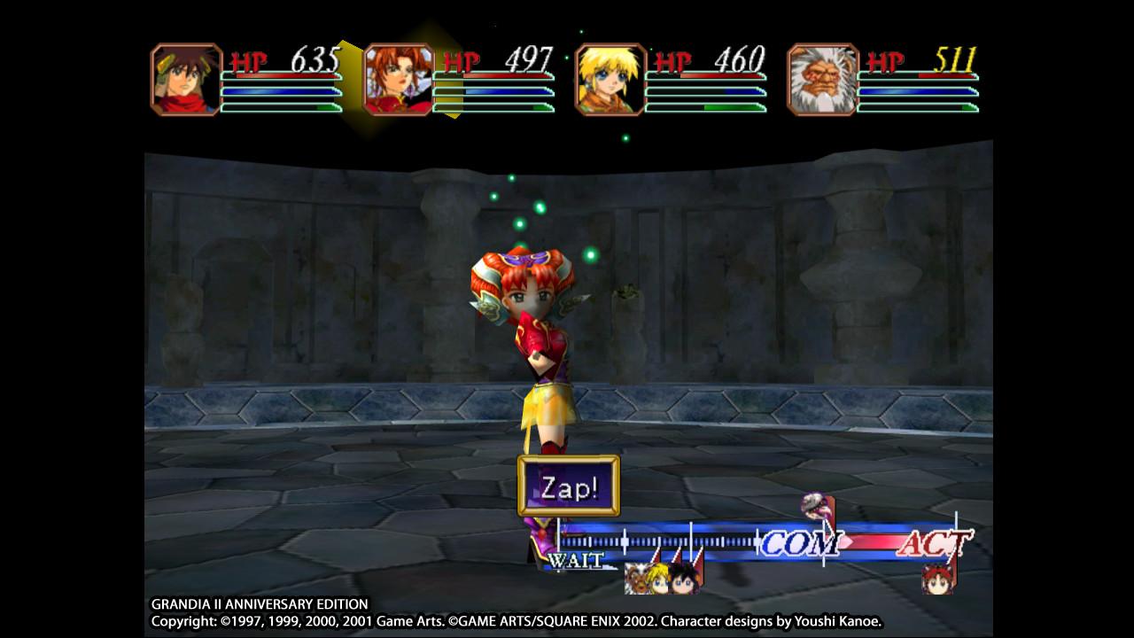 Grandia II Anniversary Edition screenshot 2