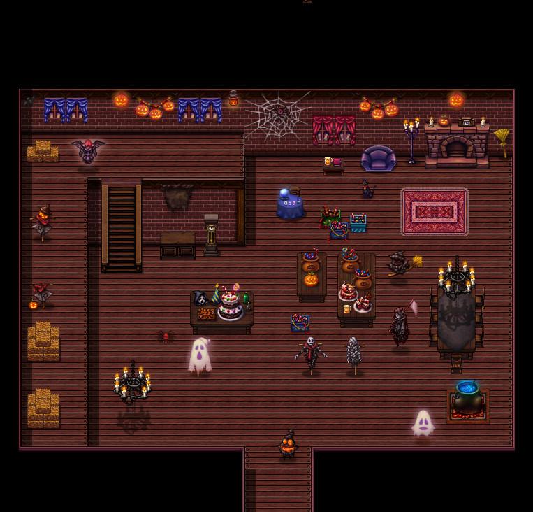 RPG Maker VX Ace - Halloween Tiles Resource Pack screenshot
