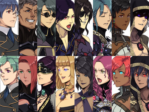 RPG Maker VX Ace - Dark Hero Character Pack screenshot
