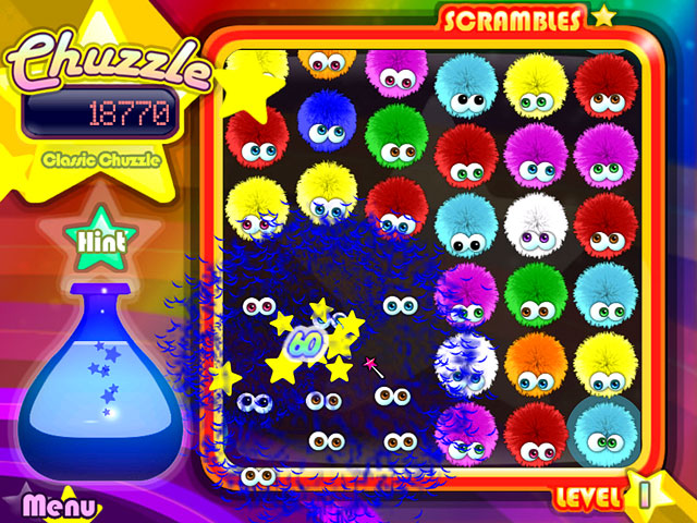 Chuzzle Deluxe screenshot