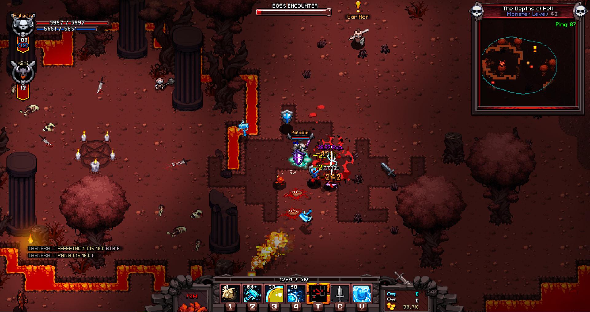 Hero Siege - Fallen Paladin (Class) screenshot