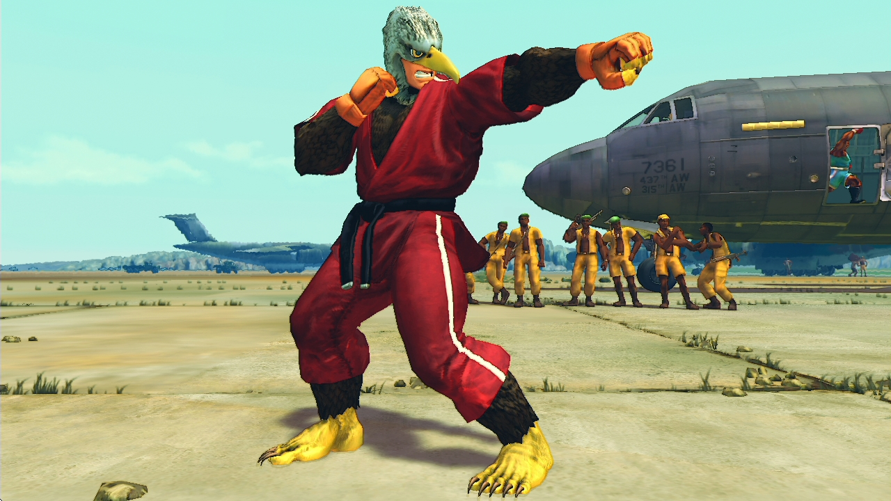USFIV: Shoryuken Wild Pack screenshot