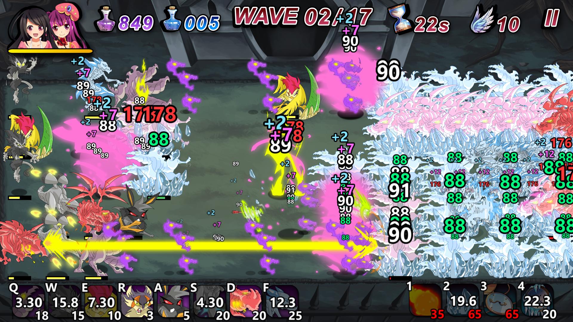 Winged Sakura: Mindy's Arc screenshot