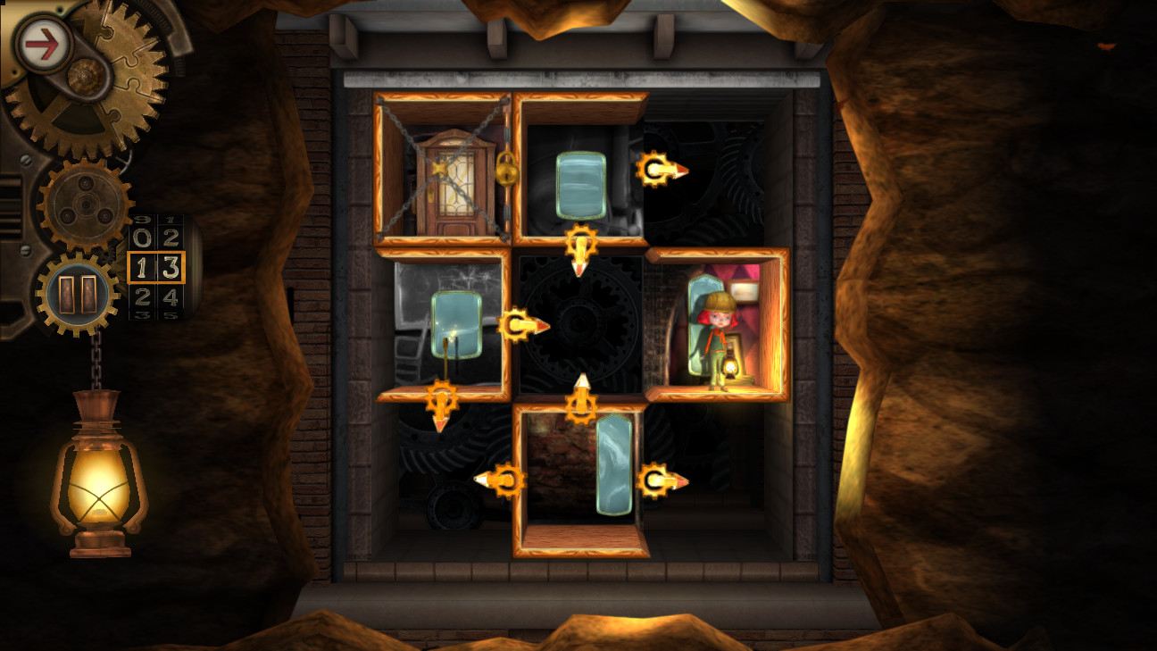 Rooms: The Unsolvable Puzzle features outstanding logic-based puzzles